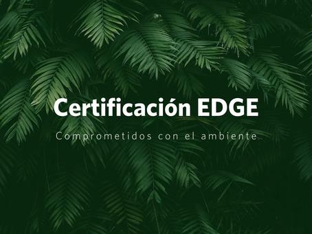 Certificación EDGE y griferías comprometidas con el ambiente