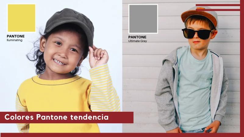 Colores tendencia moda infantil 2021
