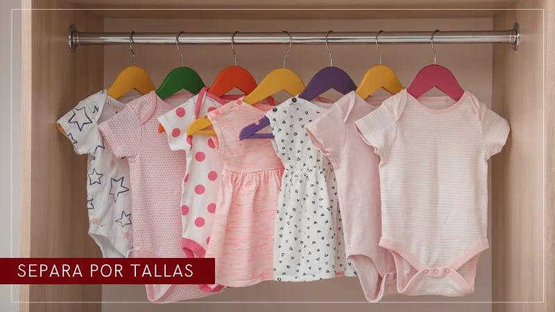 como ordenar la ropa del bebe
