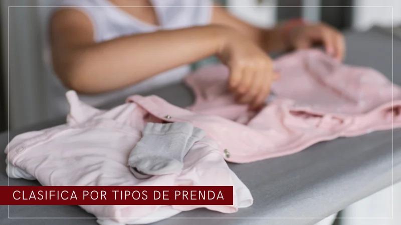 clasificar ropa bebe y orden