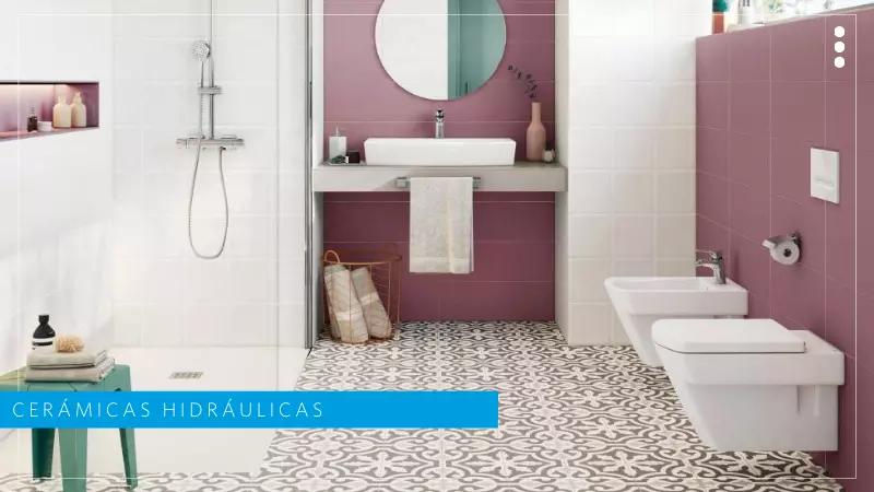 acabados para baños tendencia 2021