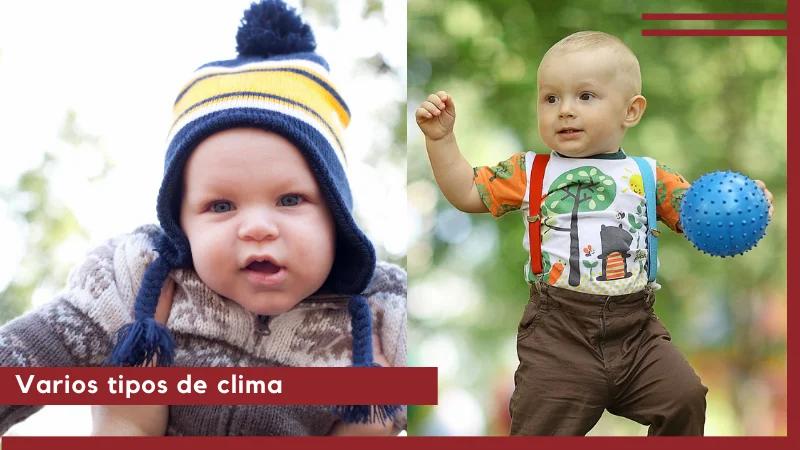ropa termica para bebe