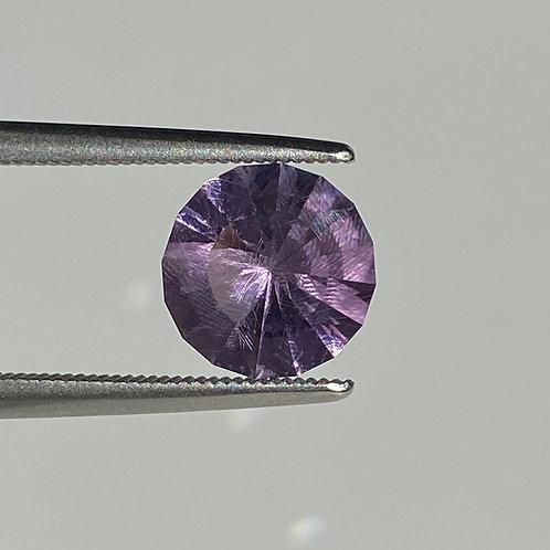 Amethyst 1.70 Carats Round Custom