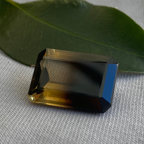Bi-coloured Quartz 15.60 Cts