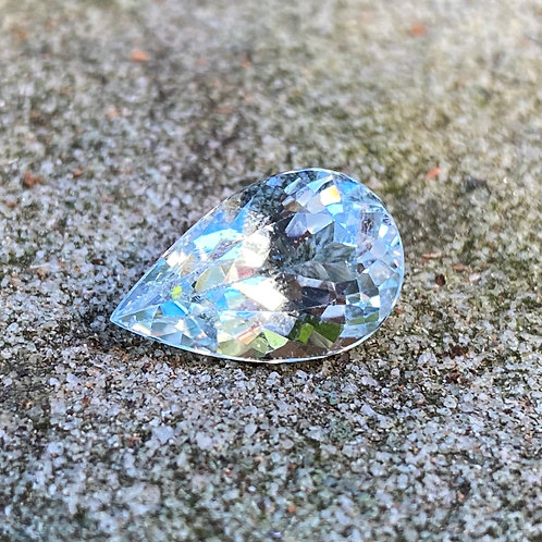 Aquamarine 4.40Ct Pear Shaped
