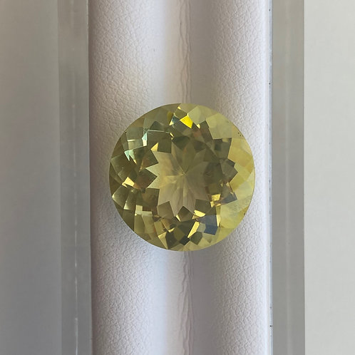 Lemon Quartz 17.32ct Round