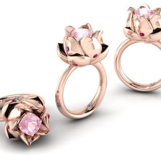 Rose Dress Ring