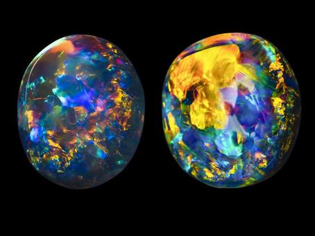 What is Opal? = SiO2 . nH2O