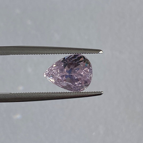 Pink Kunzite 3.91 Pear Shaped