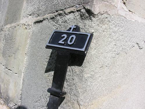 Numérotation Croix