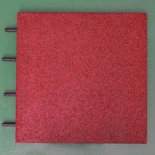 Plaque sol revêtement de protection Sable rouge