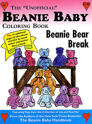 Beanie Baby Cover Page 3 - SOLD