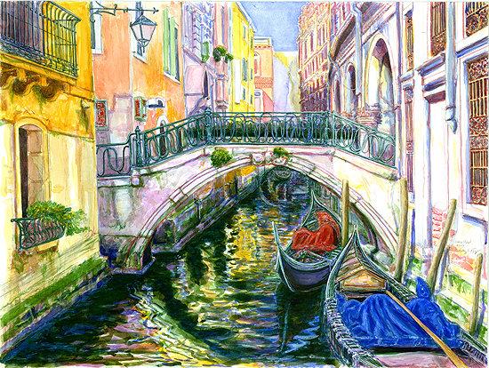 Venice Side Street - SOLD