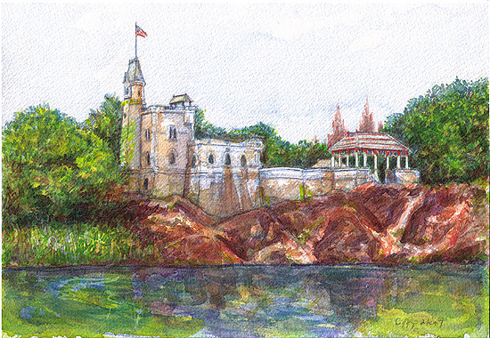 Belvedere Castle NYC - SOLD
