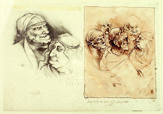 da Vinci Study - SOLD