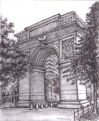 Washington Square Arch NYC