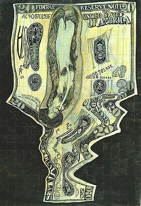 Bank Roll Money Melt of $20.00 Y2K+4