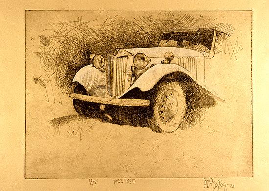 1953 MGTD - SOLD