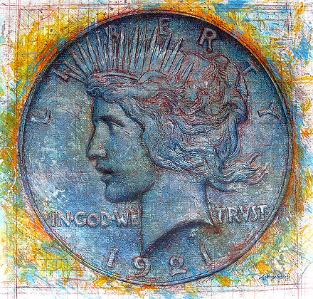 1921 Peace Silver Dollar - SOLD