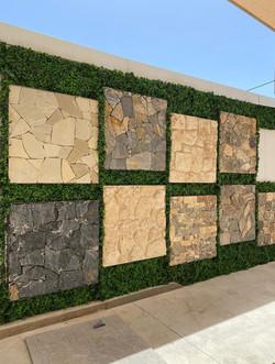 קיר ירוק צמחיה מלאכותית