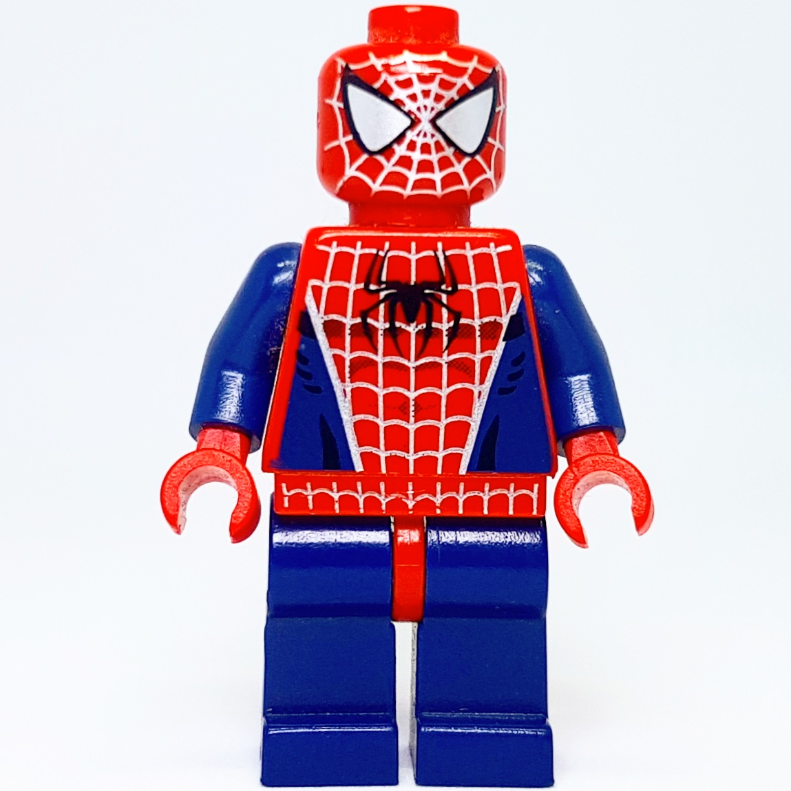 Spider Man Peter Parker In The Lego Incredibles Videogame: Lego 2002 Spiderman Movie - Spiderman Minifigure