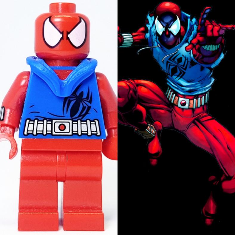Spider Man Peter Parker In The Lego Incredibles Videogame: Scarlet Spider (Ben Reilly