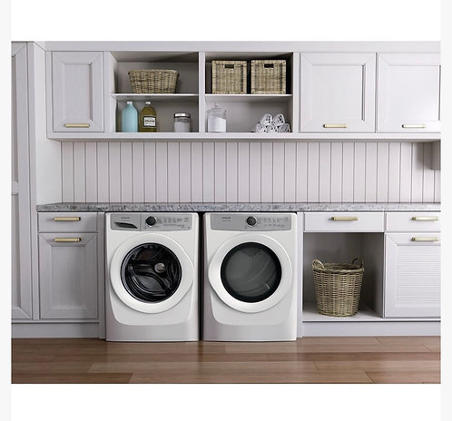 COMBO FRIDGIDAIRE FRONT LOAD WASHER AND ELECTRIC DRYER