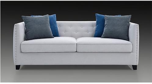 St Regis 2- PCS Sofa Set in Light Grey Fabric