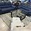 "Thumbnail: ""LAGUNA"" 2-PCS LIVING ROOM SET UPHOLSTERED IN BLUE GREY FABRIC"