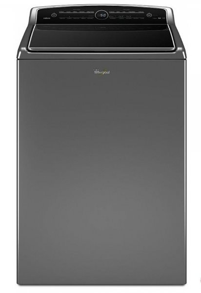 """Top Load Washer, 27"""" Width, 6.1 cu. ft. Capacity, 25 Wash Cycles, 5 Temperature"""