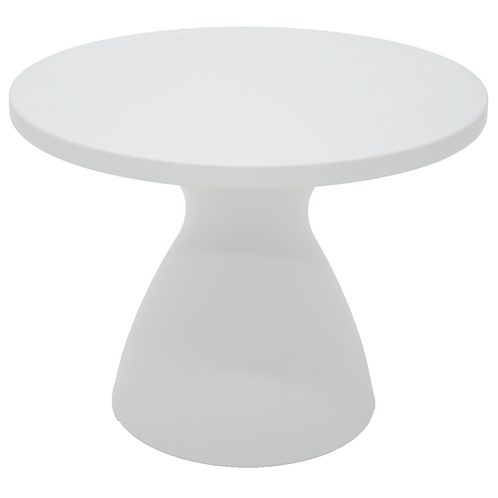 """""""FLUT"""" COFFEE TABLE IN WHITE"""