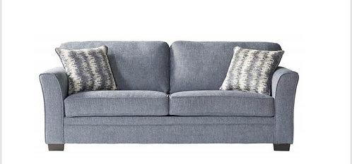 """""""Estela"""" Queen """"Sleeper"""" Sofa Bed In Grey Fabric"""