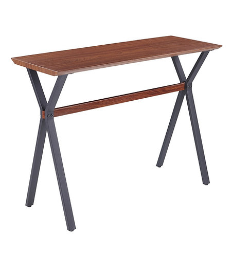 """""""Hunter"""" Console Table In Cherry Wood Look"""
