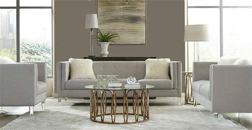 Hemet 2-Pcs Sofa Collection In Light Grey
