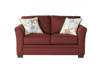 """Chili Pepper Sofa Bed """"Full"""" Sized In Chili Red"""