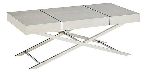 AVA CENTER TABLE IN SILVER