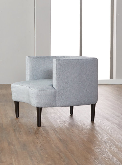 """""""VENTURE"""" ACCENT CHAIR IN LIGHT GREY"""