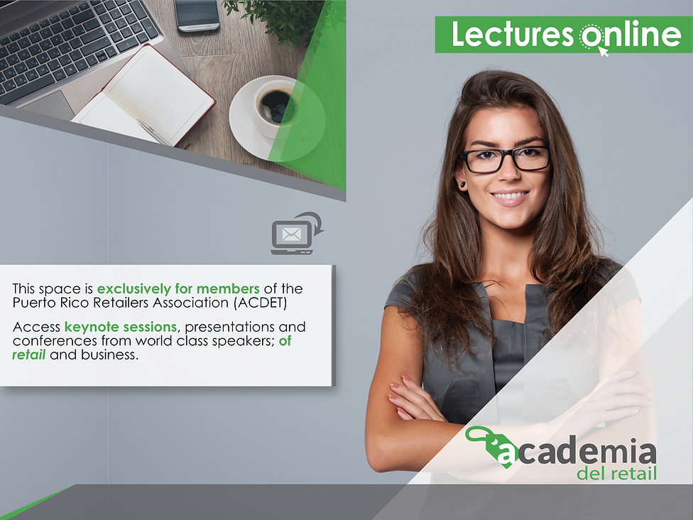 Banner Academia del retail web page new