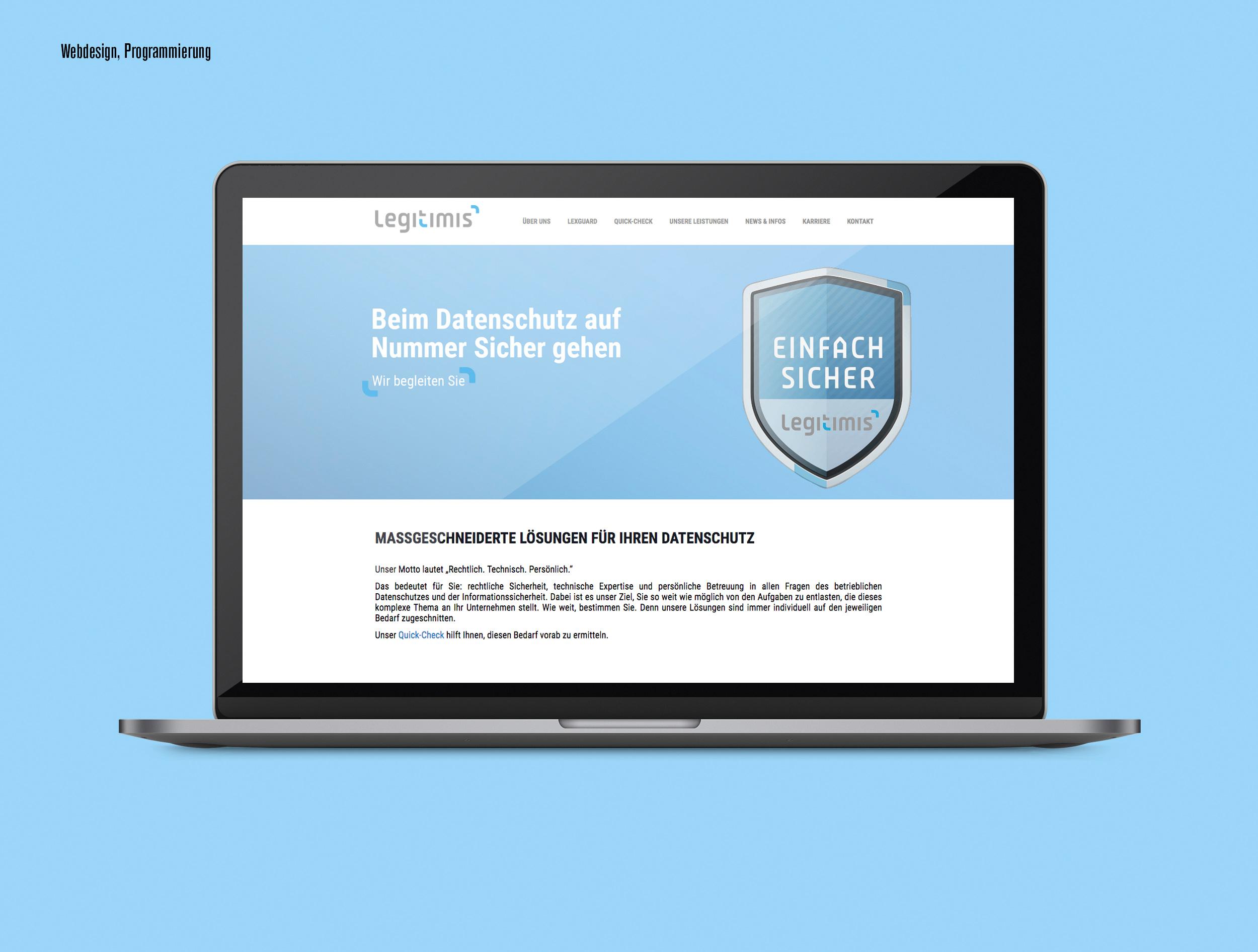Legitimis Website Kopie