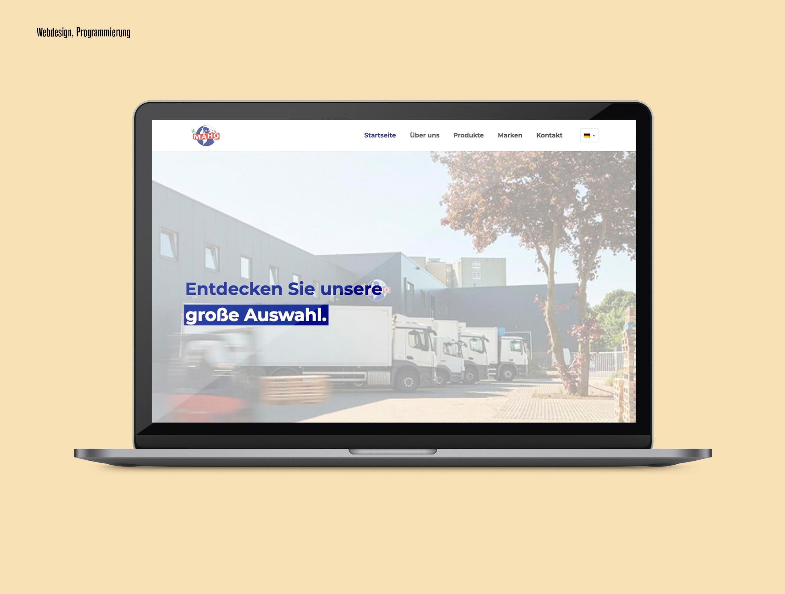 Maho Website Kopie