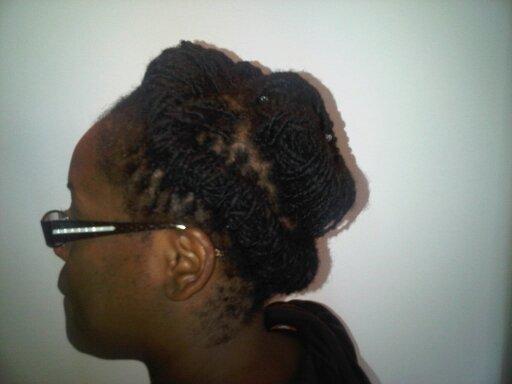 Locs Spiral Style