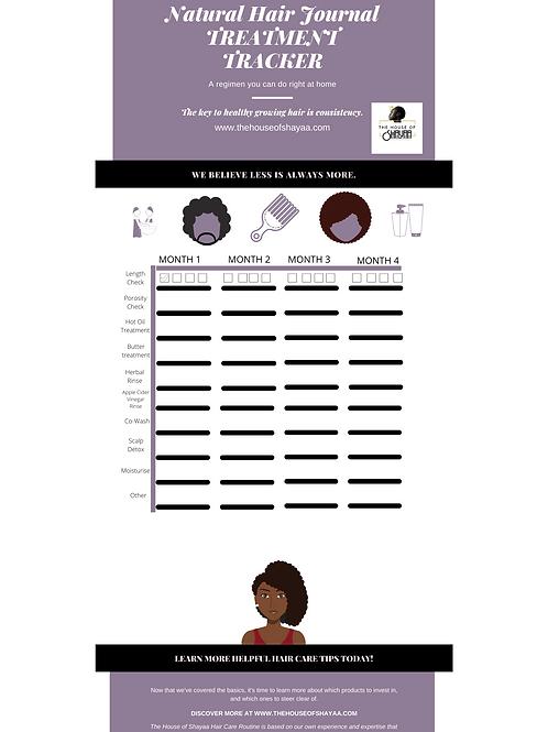 Hair Treatment Tracker
