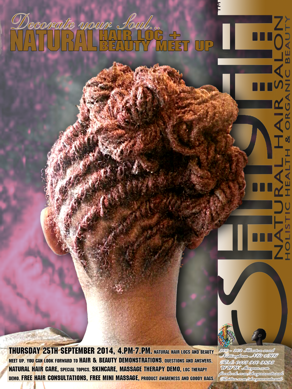 Shayaa Natural hair, locs & beauty