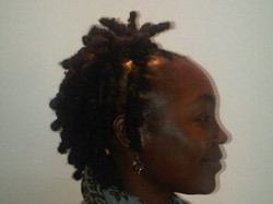 Bantu Knots With a Side Style