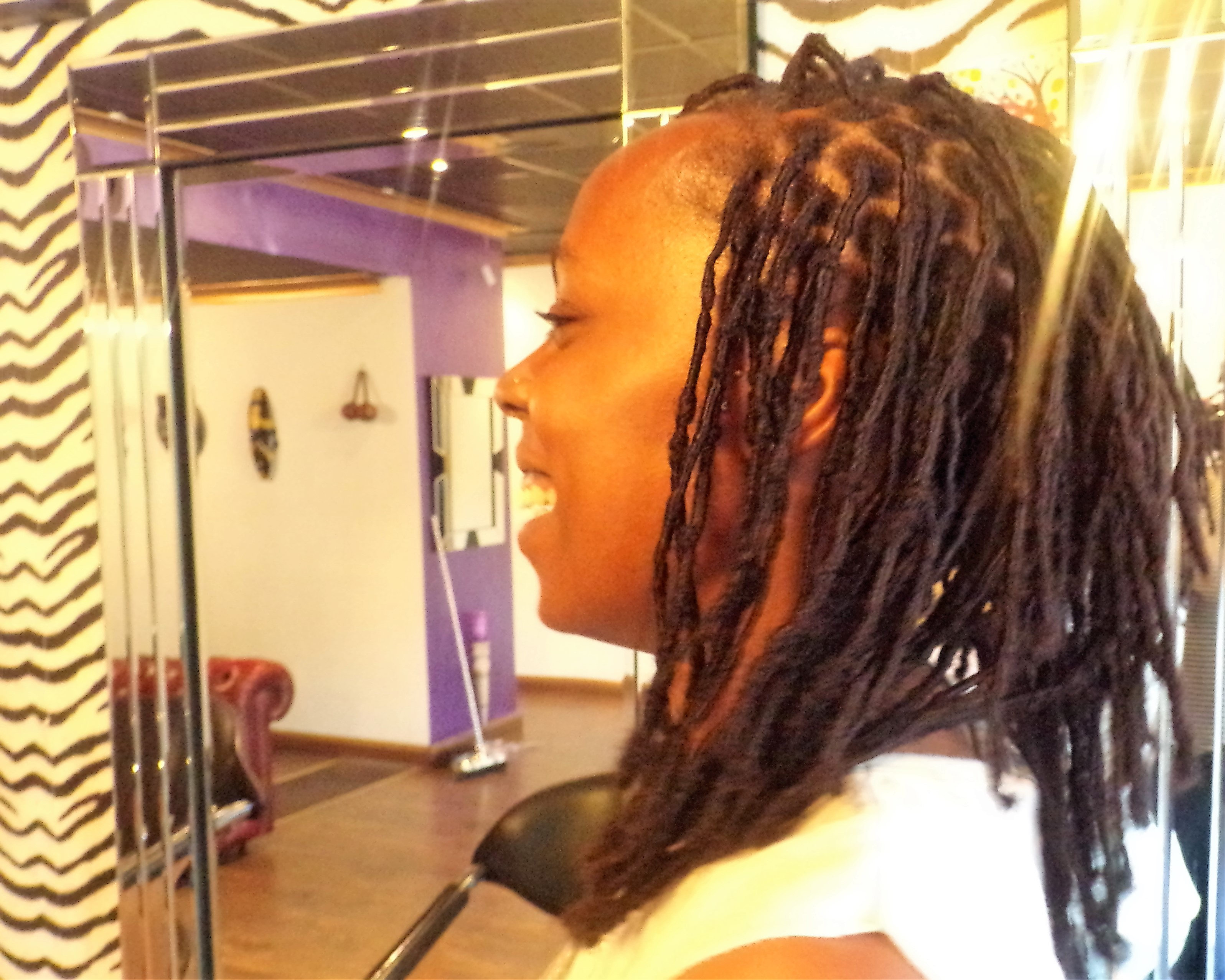 Human Hair Loc Ext