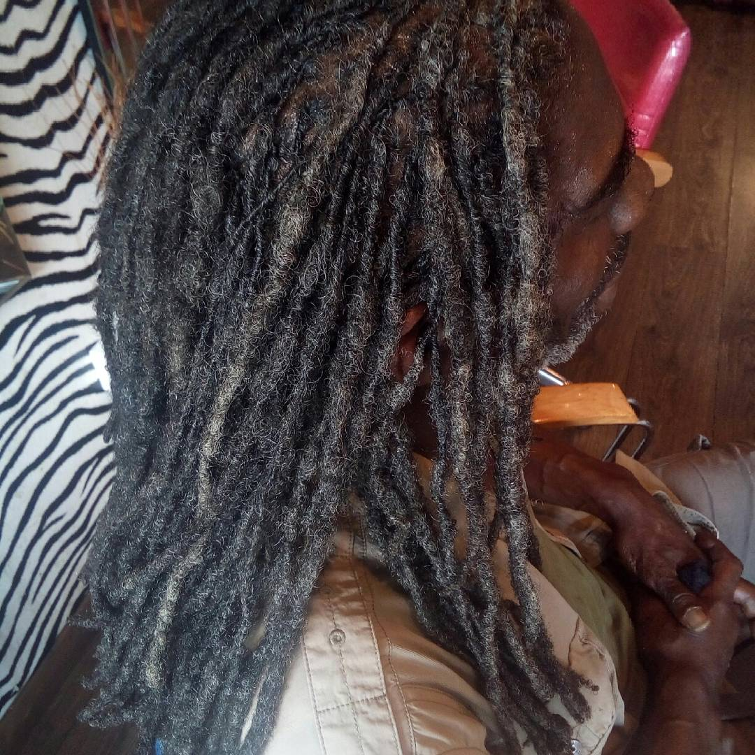 Salt & pepper Locs