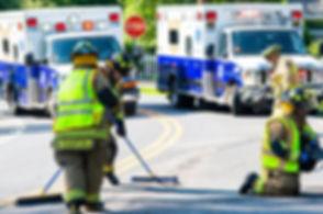 DBEMS Ambulances 5186 5187 MVA Elsmere.j