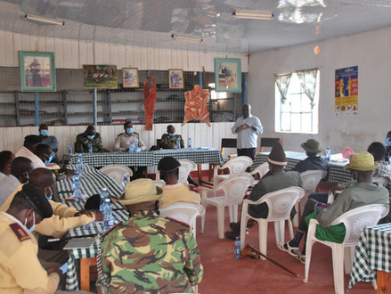 Kick off of a 3 year peace building and conflict transformation project