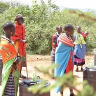 Open-air markets of Samburu East