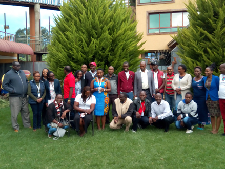 Meeting With MCA's – Our Land Our Heritage
